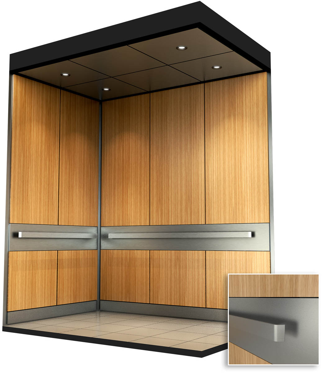Interior cab design cbm elevators ottawa for Elevator designs